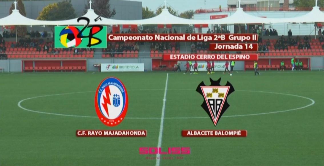 Albacete Balompie Calendario.El Video Del Rayo Majadahonda Albacete Balompie